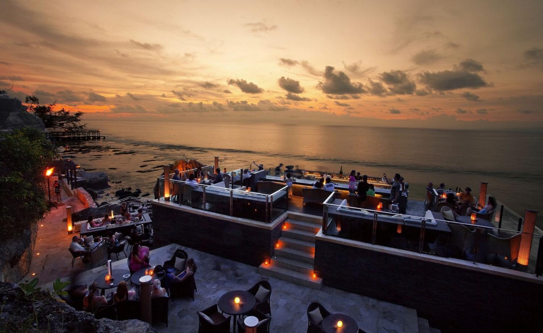 Rock Bar at Sunset
