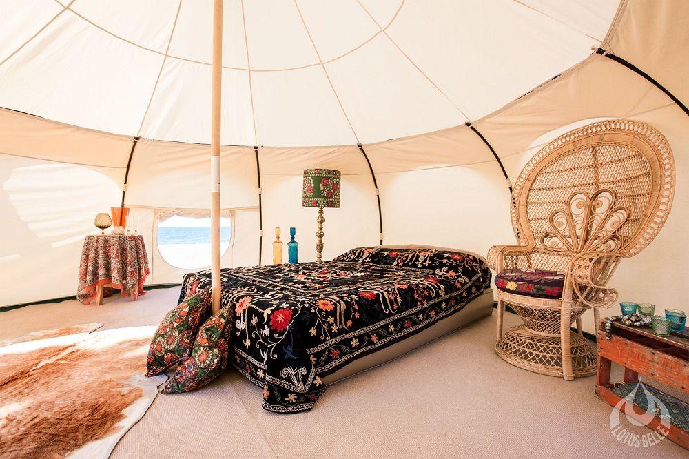 Spacious camping tent