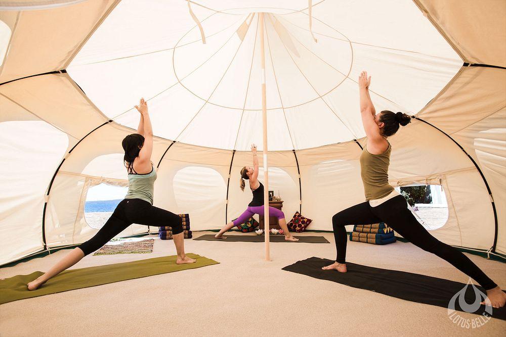 Tent Yoga