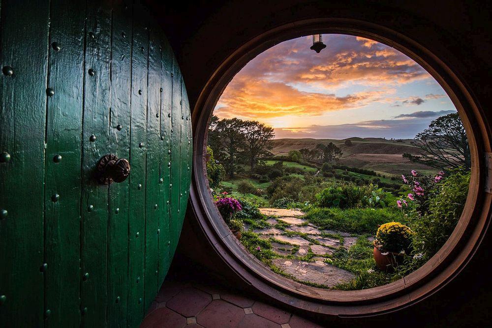 Inside a Hobbit House