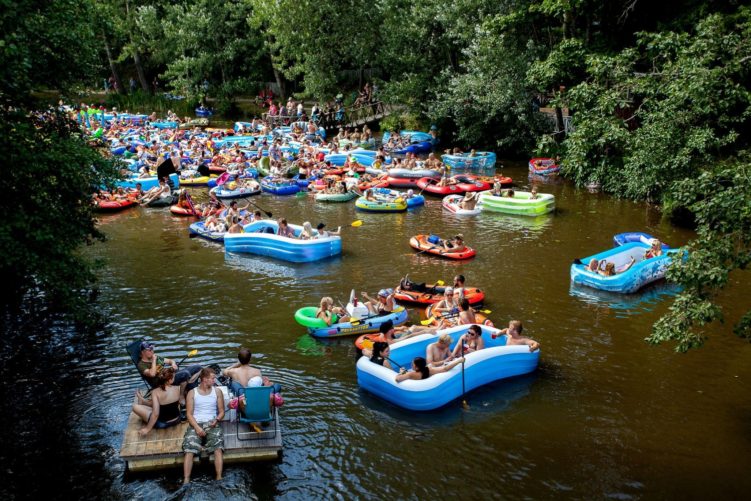 Floating Beer Event