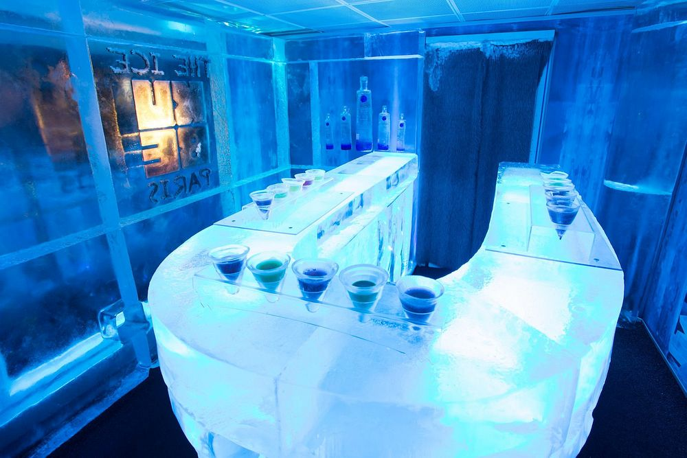 Ice Kube Bar, Paris