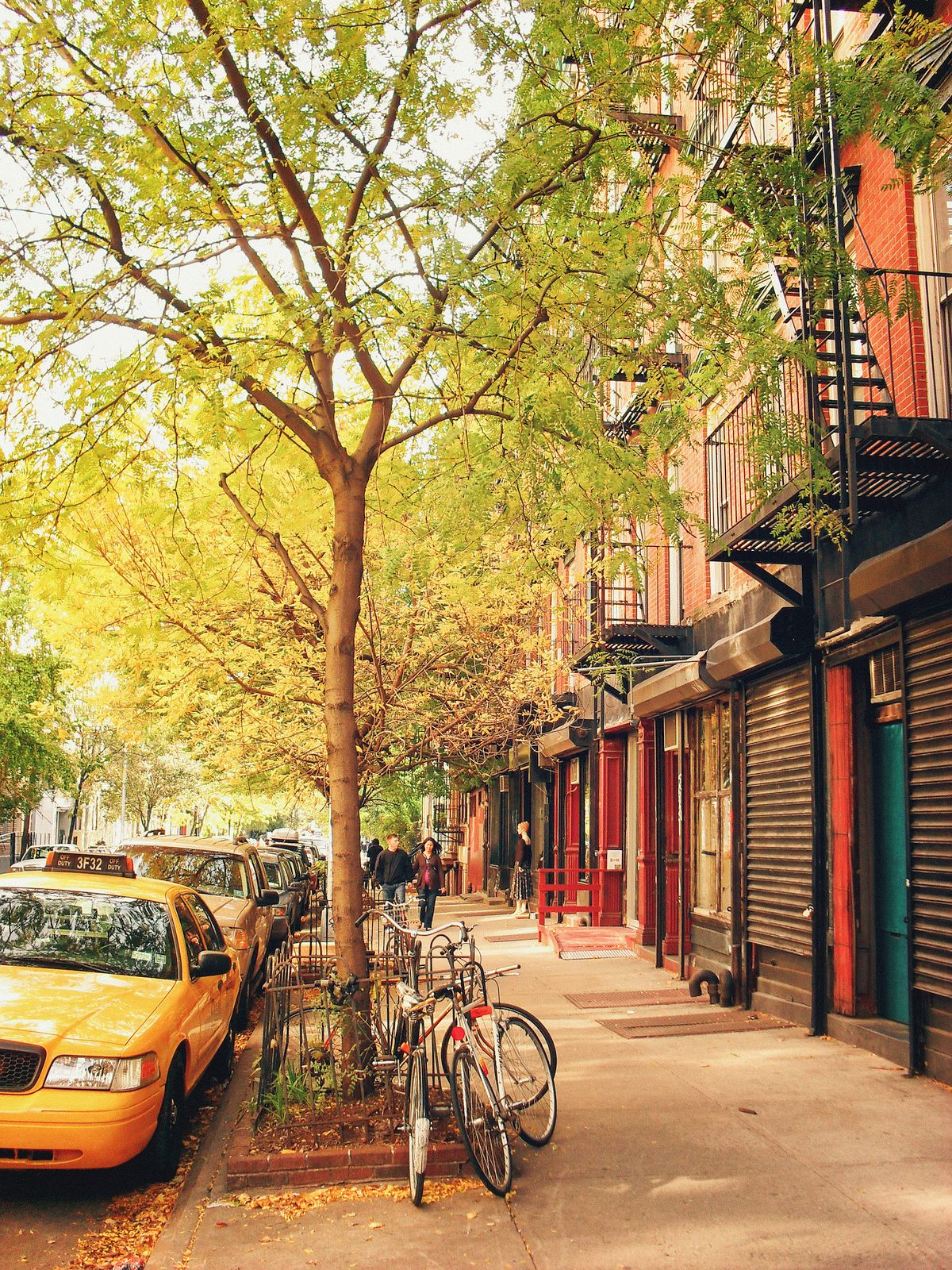 Autumn in the East Village