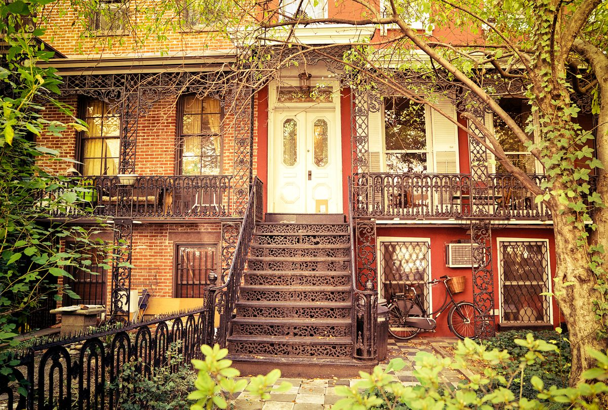House in Stuyvesant Square