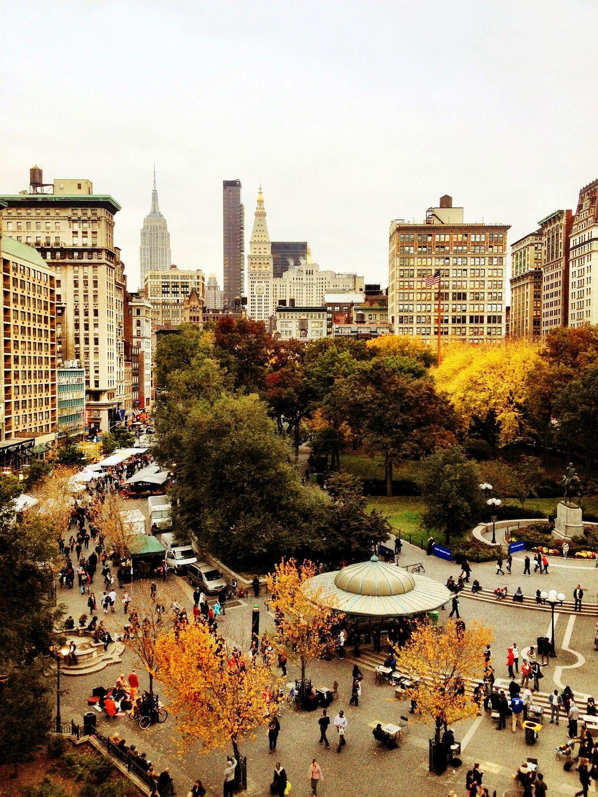 Above Union Square