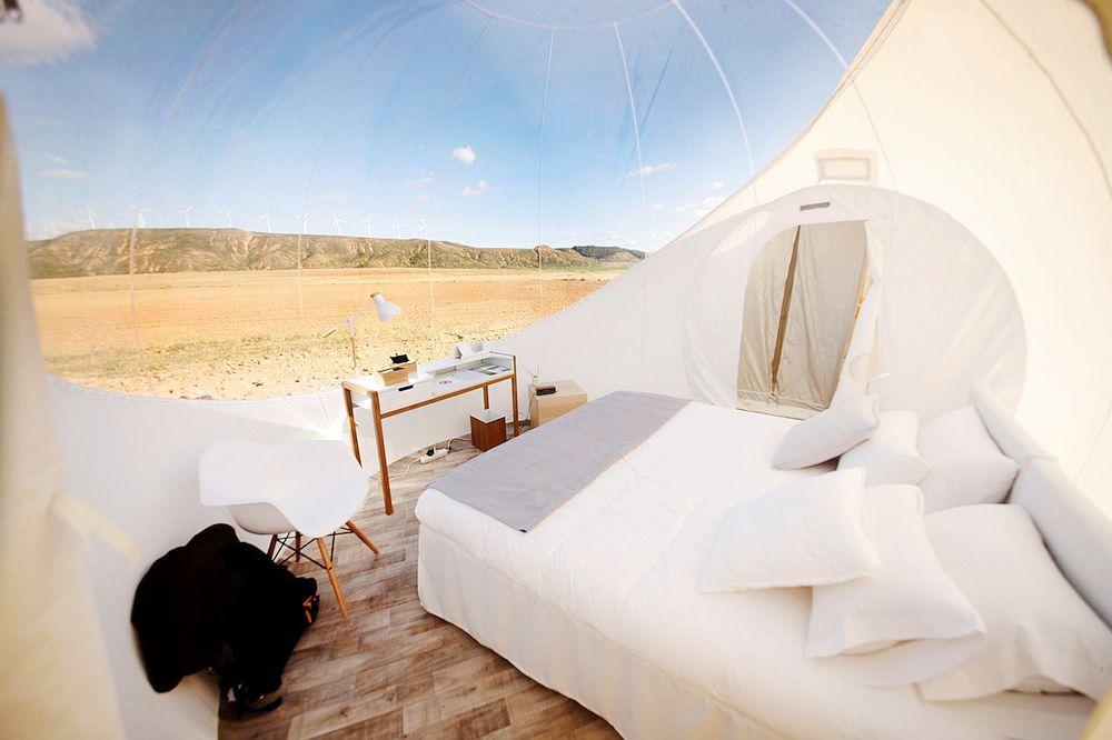 Desert Bubble Room