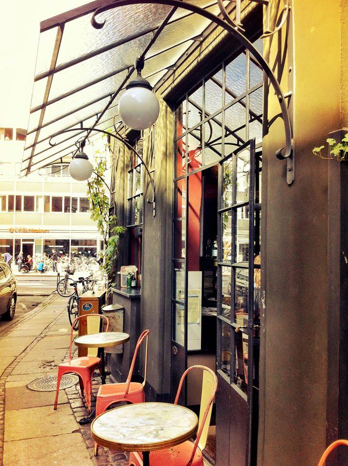 Smallest cafe in Copenhagen