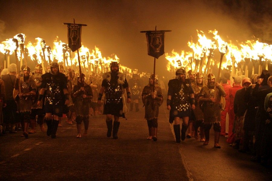 Up Helly Aa Procession, Scotland