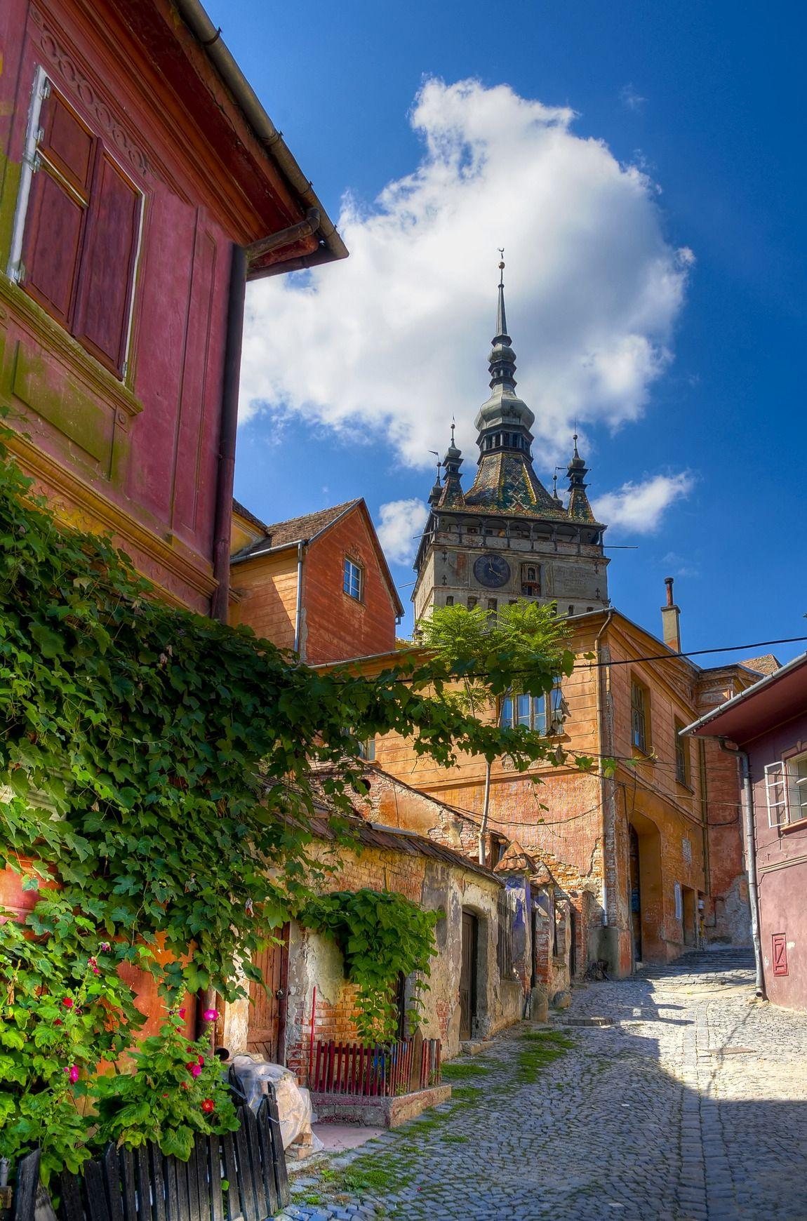Medieval City in Transylvania