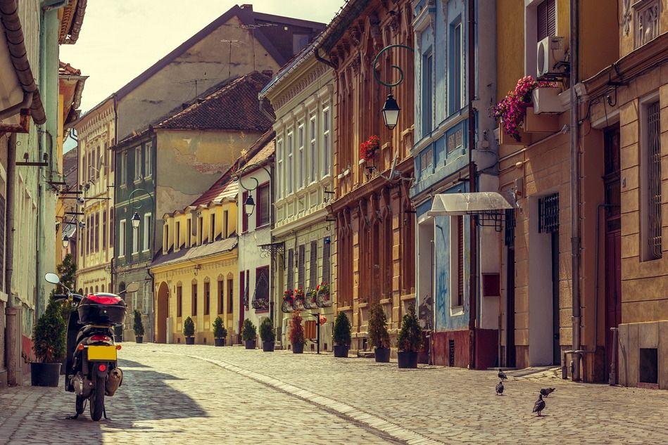 Street in Brasov