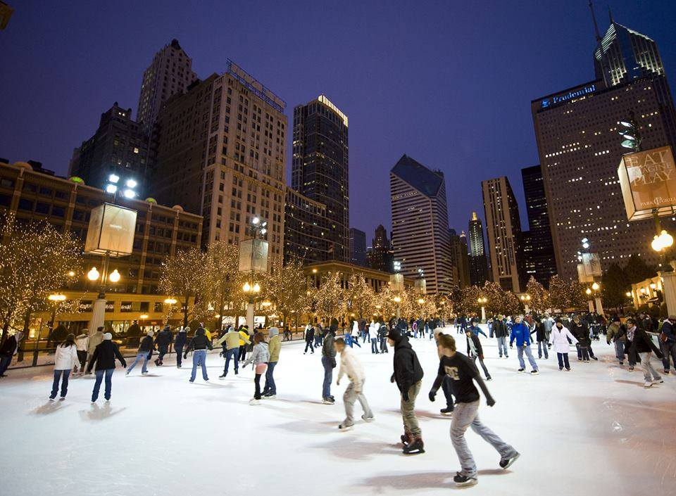 McCormick Tribune Ice Rink, Chicago