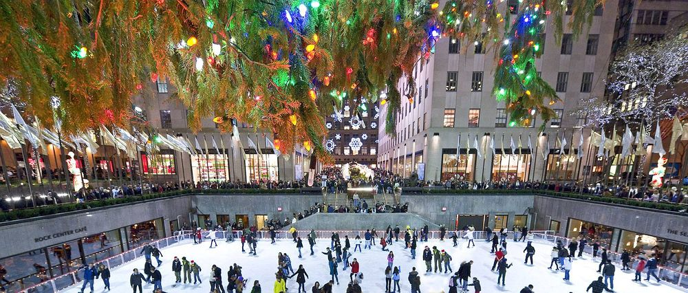 Christmas Ice Skating Rink Decoration.24 Most Beautiful Ice Skating Rinks In The World