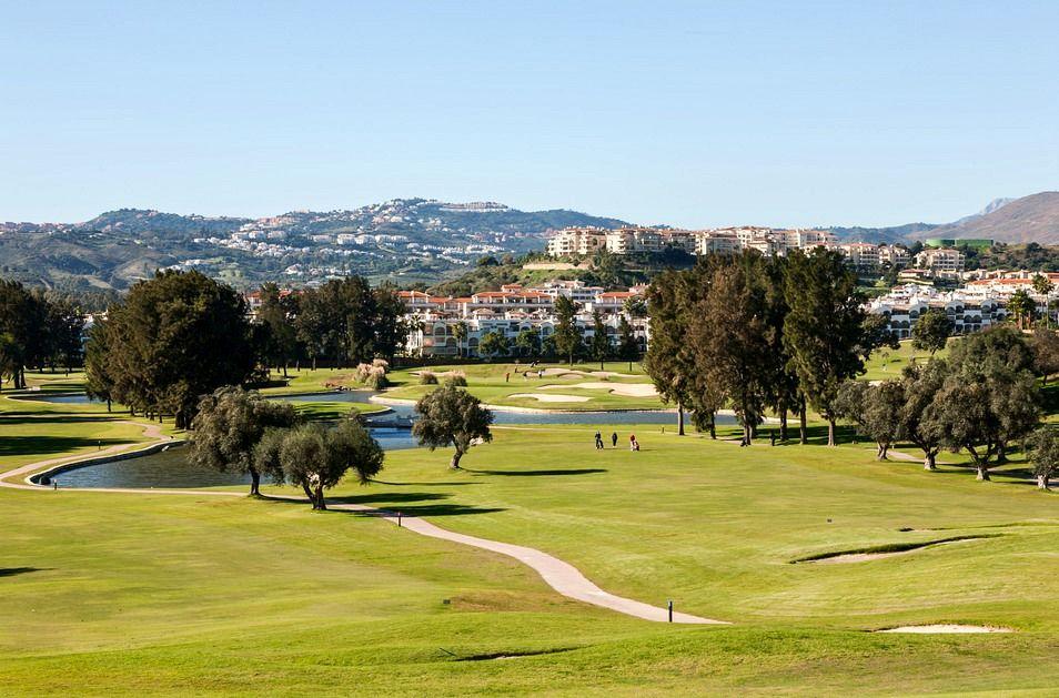 Golf course on Costa del Sol