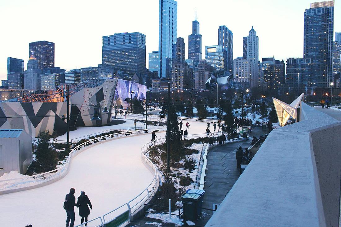 Skating Ribbon, Chicago