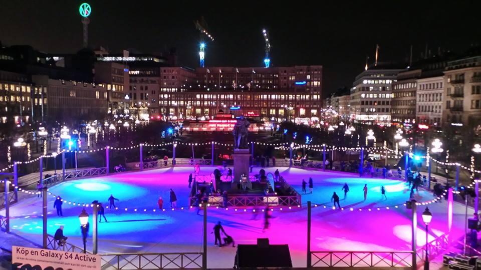 Ice Skating Rink, Stockholm