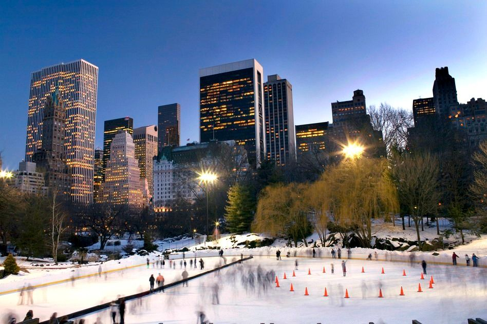Wollman Skating Rink, NYC