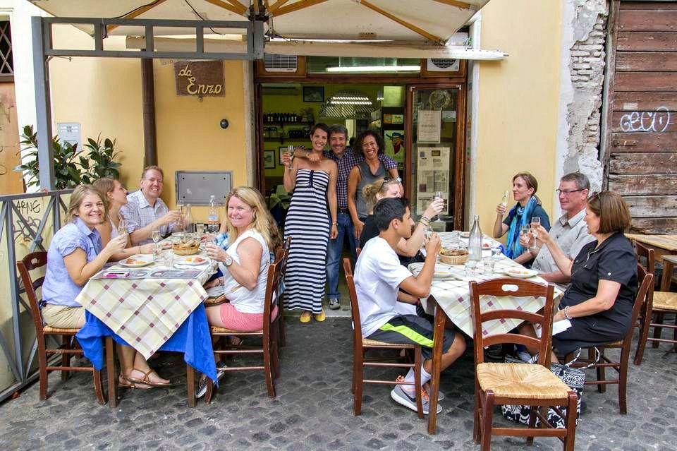 Food Tasting in Rome