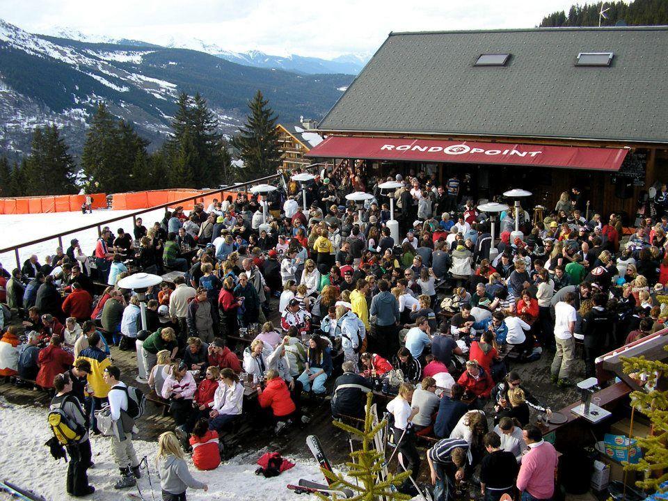 Après-ski bar in Meribel