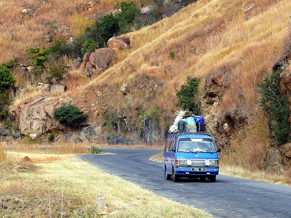 Taxi Brousse in Madagascar