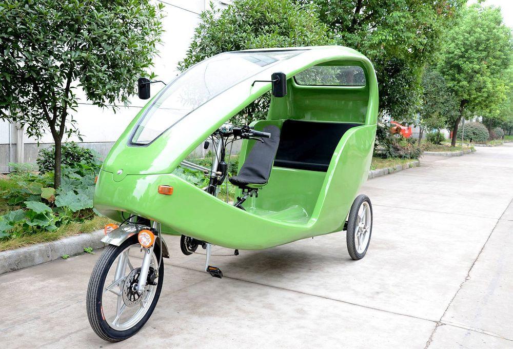 Bici Taxi, Mexico