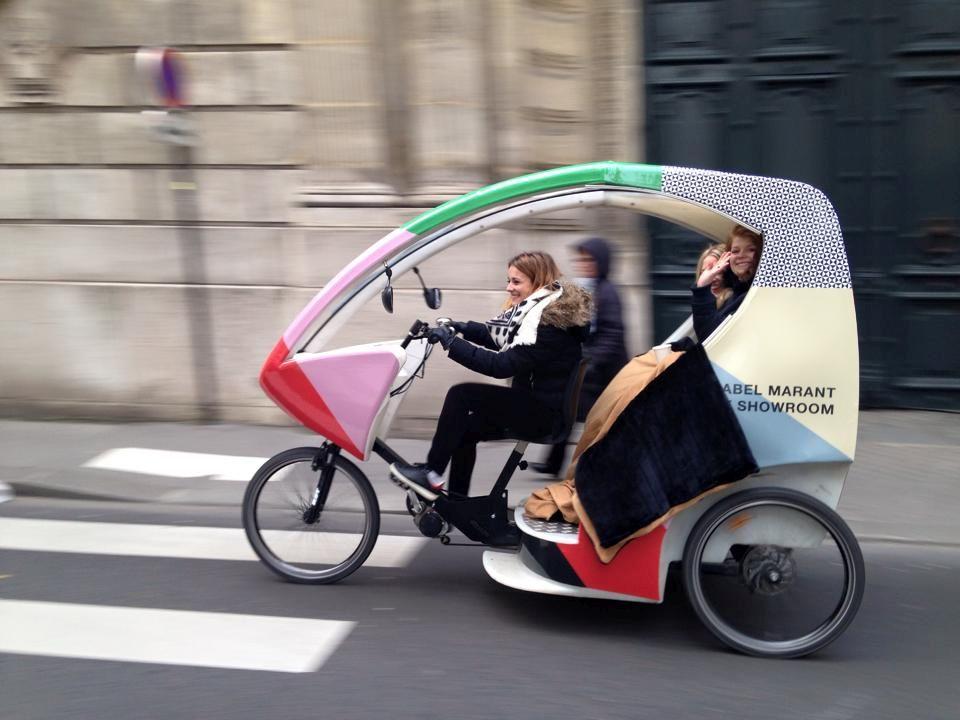 Bike Taxi, Paris