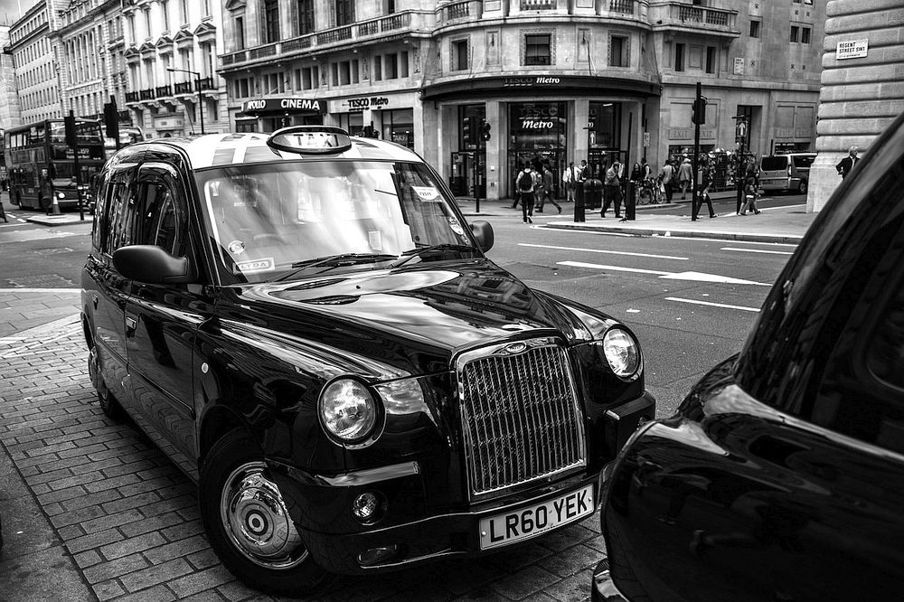 Black Taxi in London