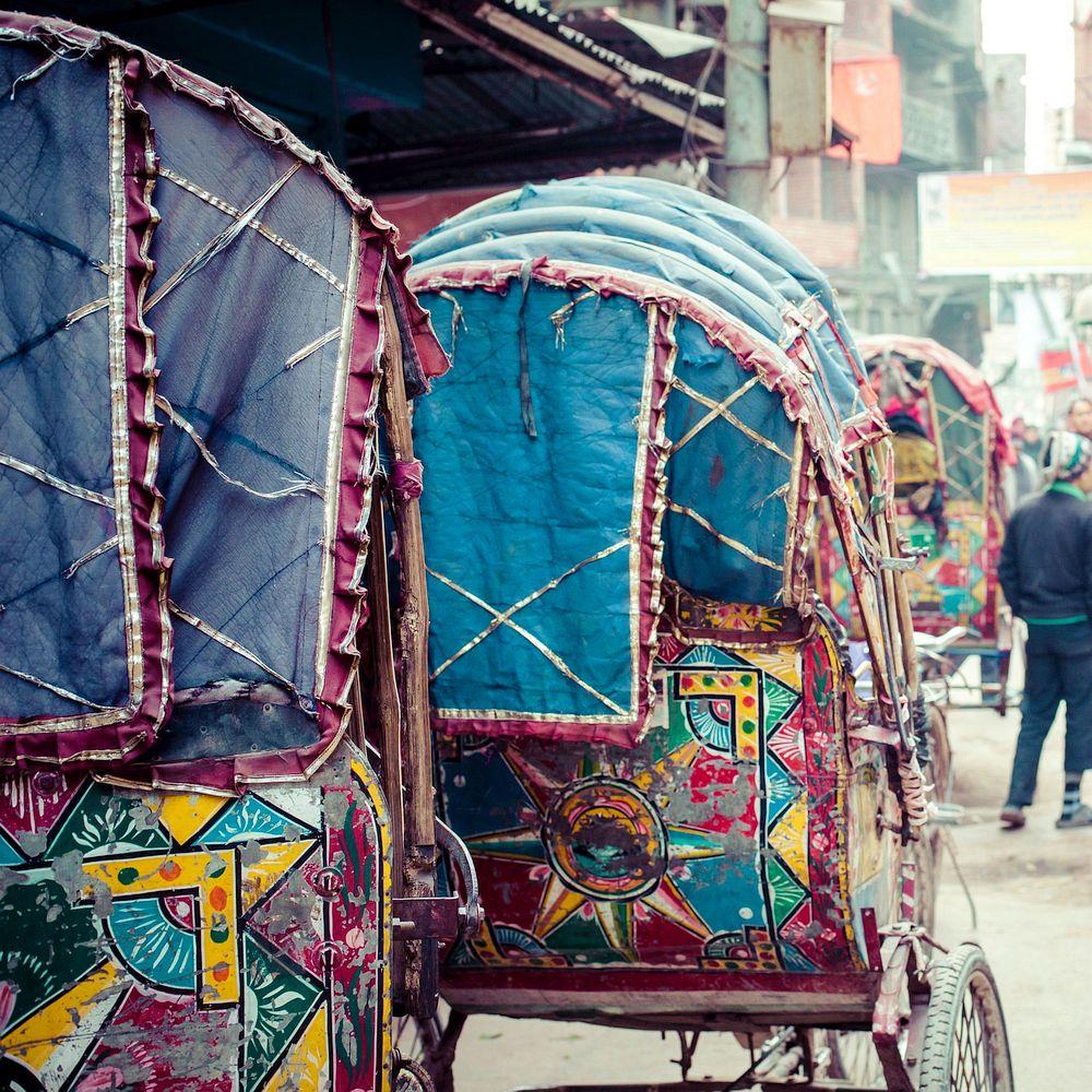 Nepalese Cycle Rickshaw