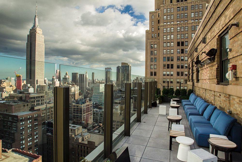 The Skylark rooftop bar