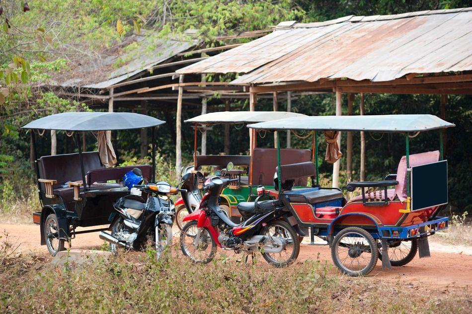 The Cambodian tuk-tuk