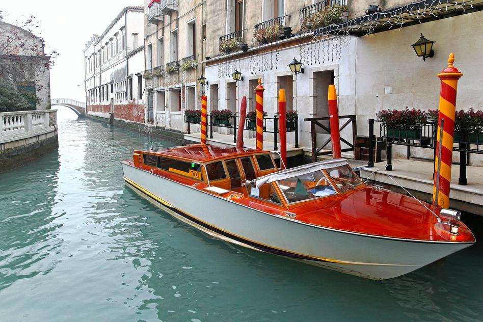 Taxi Boat in Venice