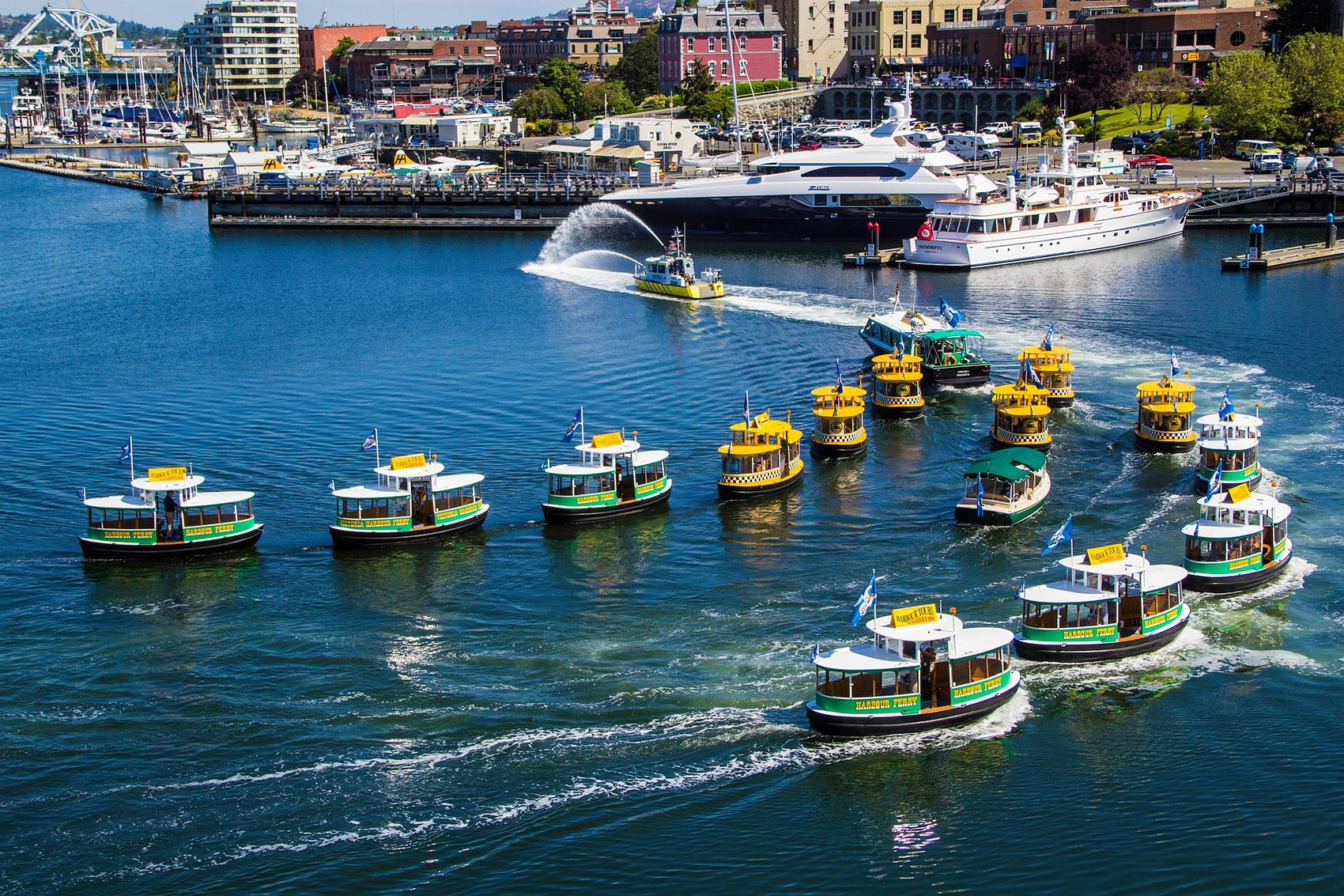 Water Taxis in Victoria, Canada
