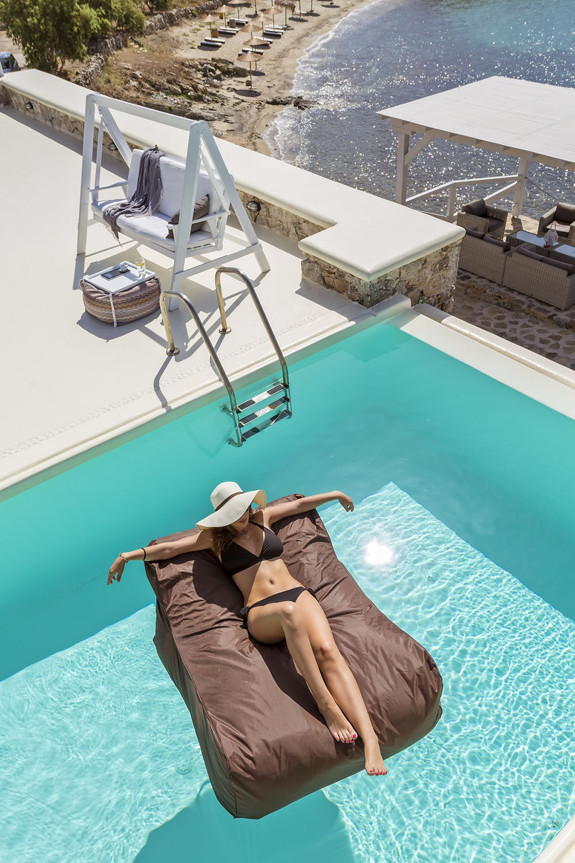 Swimming pool in Mykonos