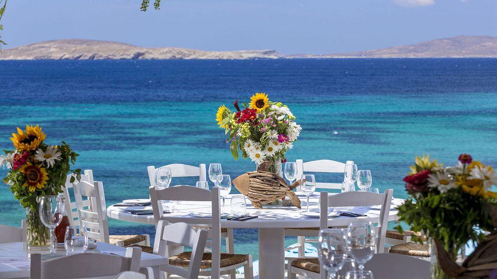 Seafood restaurant in Mykonos