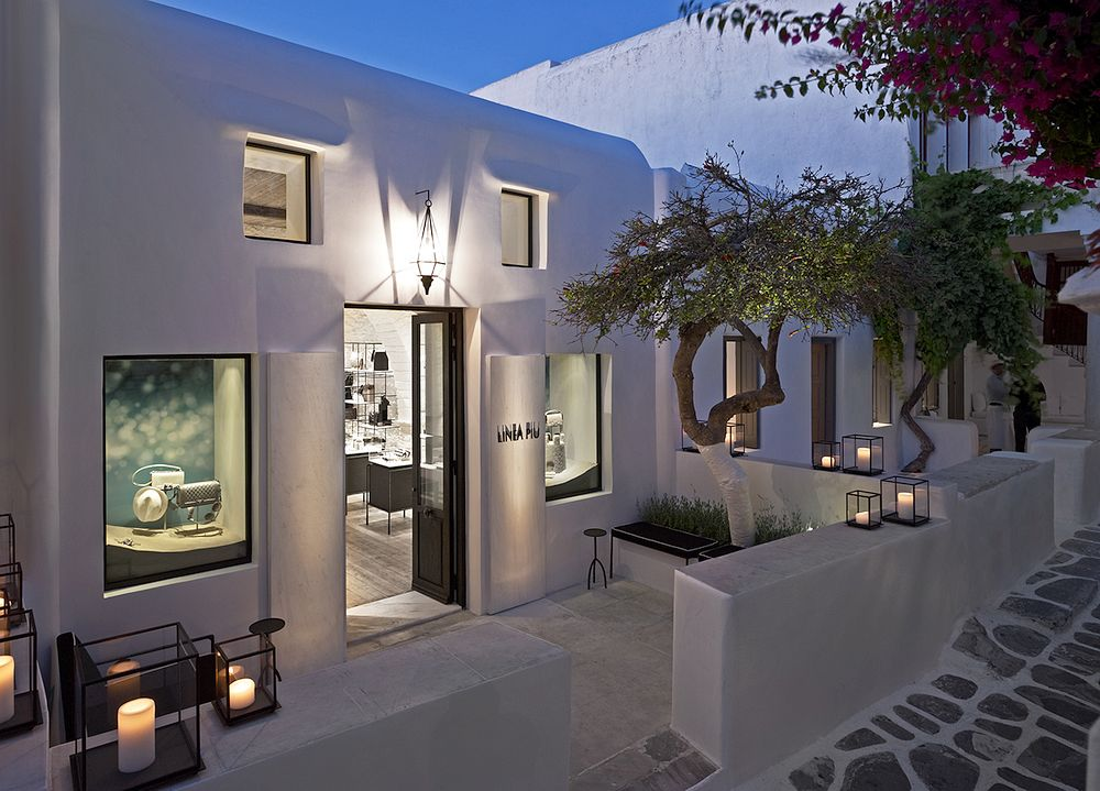 Designer store in Mykonos