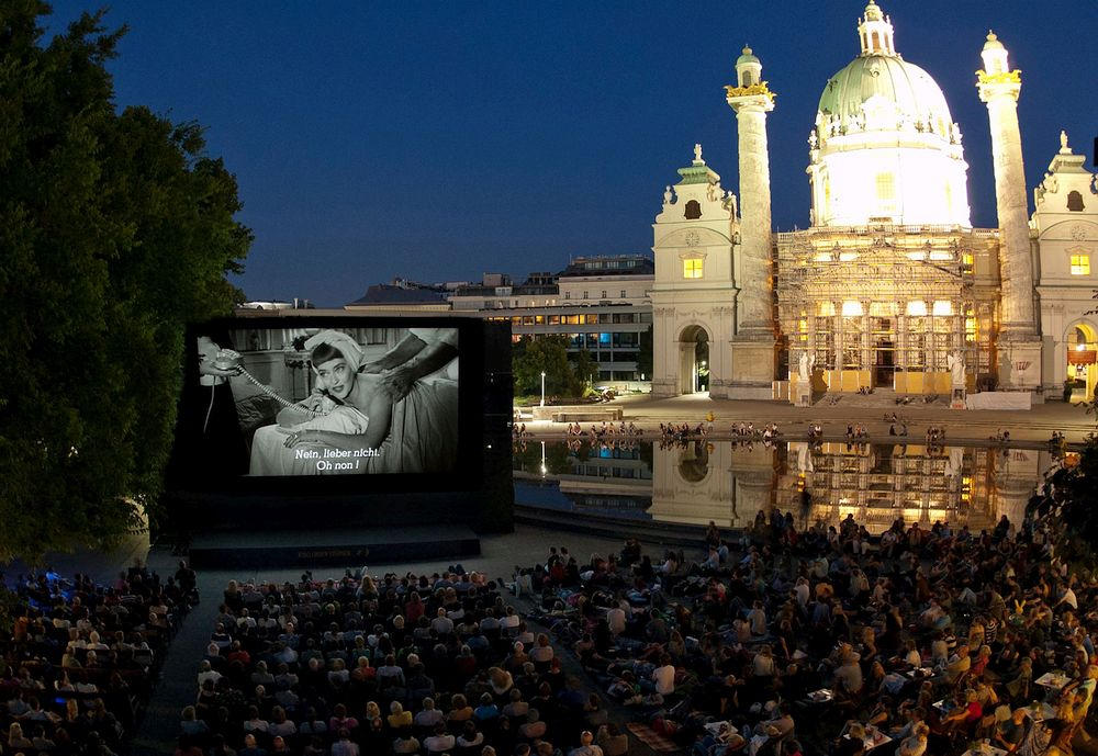 Cinema Under the Stars in Vienna