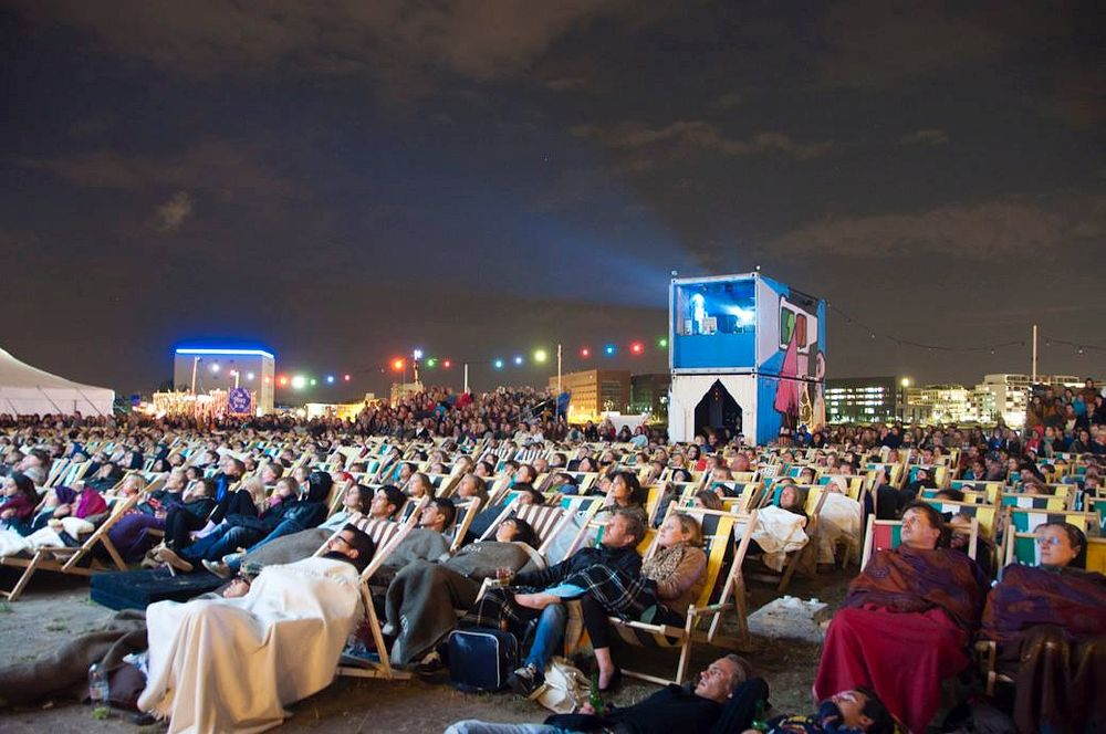 Open-air film festival in Amsterdam
