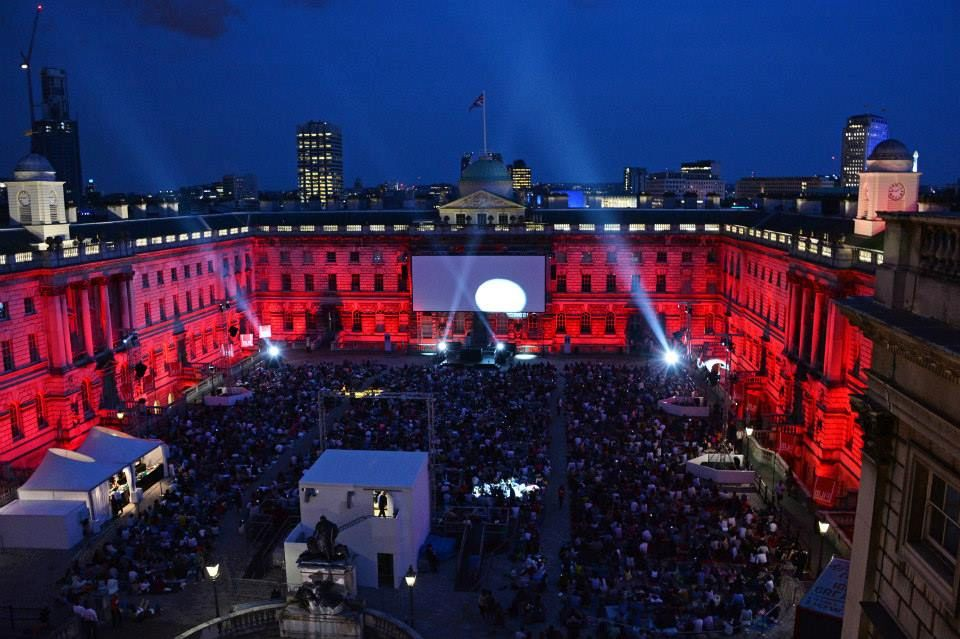 Outdoor Cinema at at Somerset House