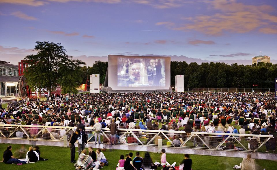 Cinéma en Plein Air de la Villette