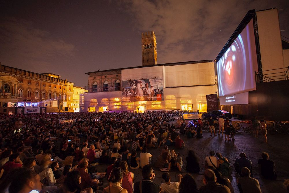 Open-Air Cinema in Bologna