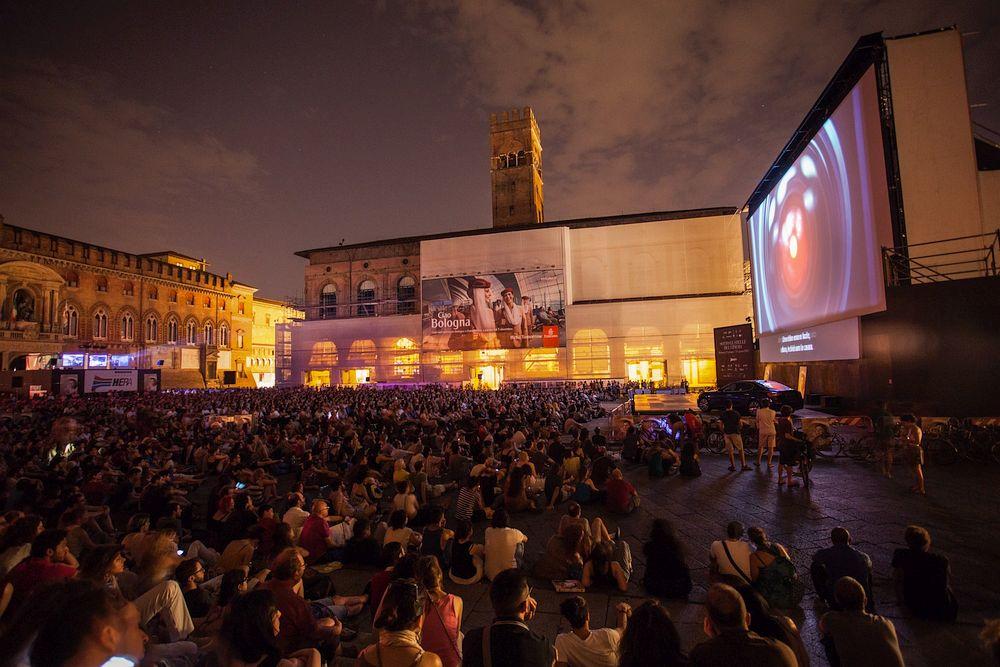 Open-Air Cinema in Bologna