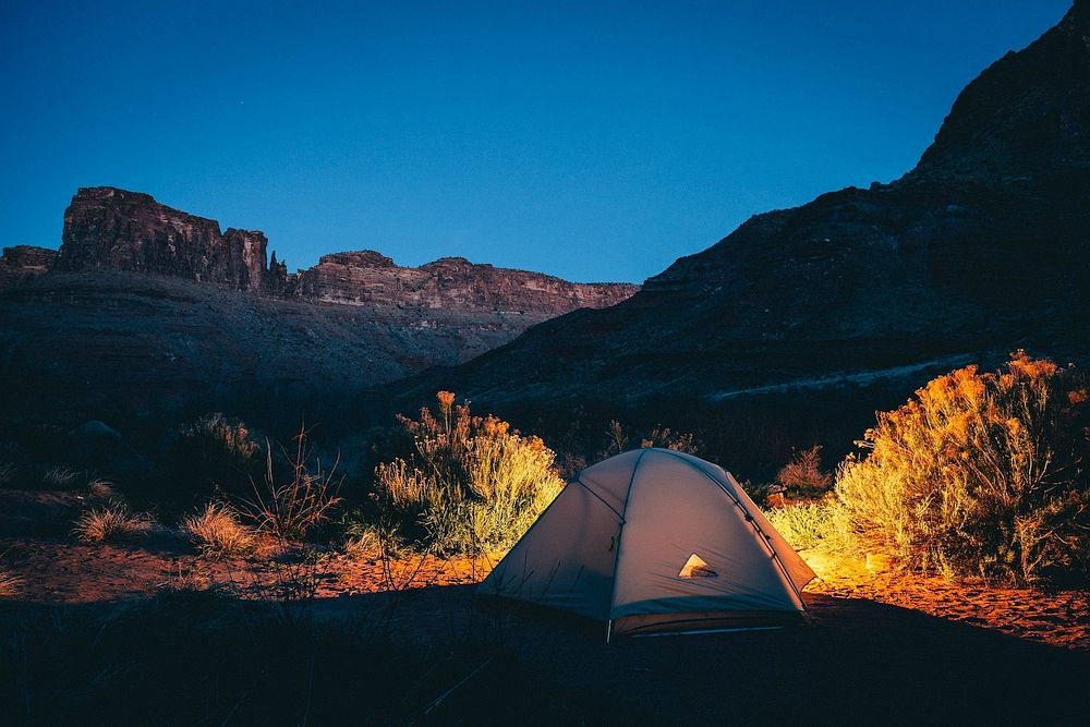 Camping in USA