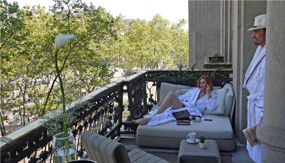 Balcony on Passeig de Gracia