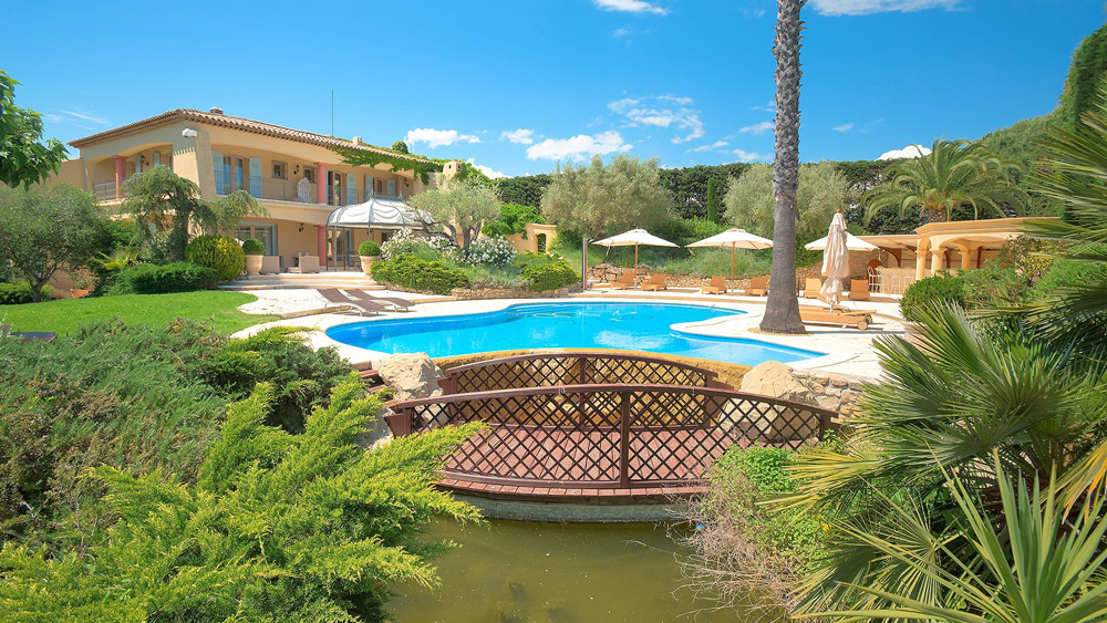 Luxury Ramatuelle villa for rent