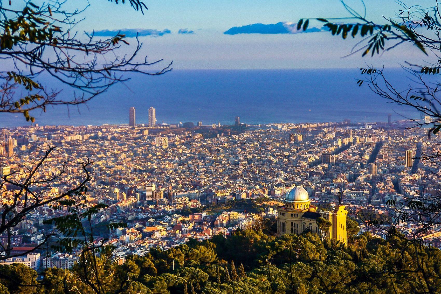 Barcelona seen from Collserola