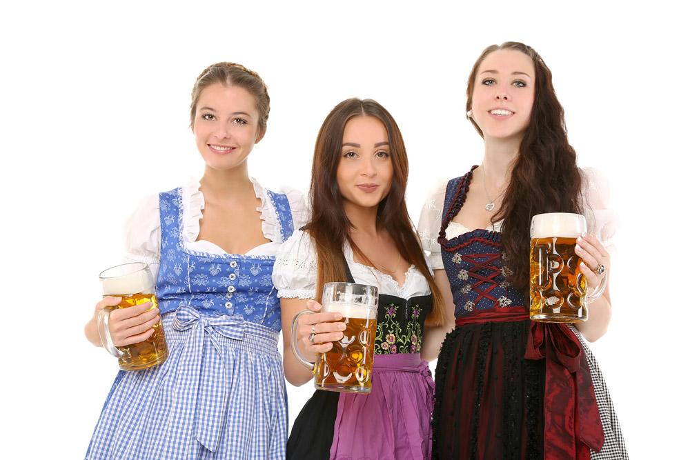 Girls at Oktoberfest