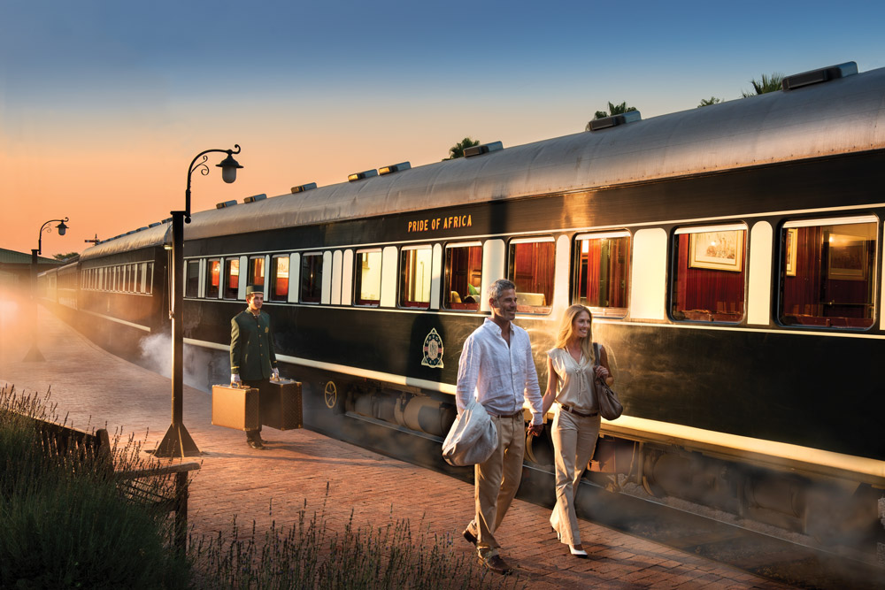 The most luxurious train in the world