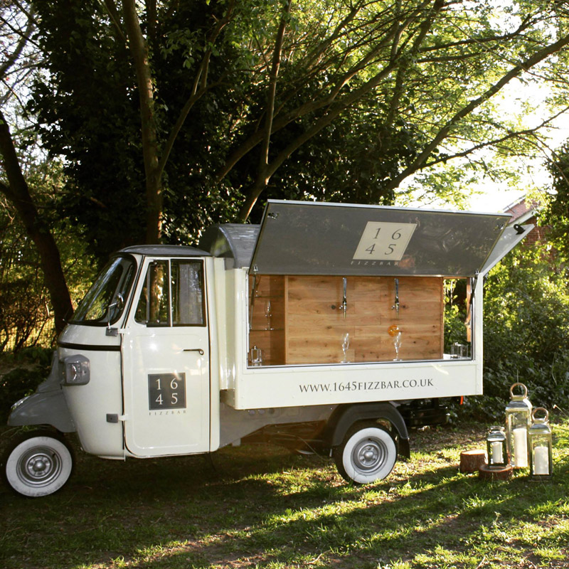 Mobile bar in Yorkshire