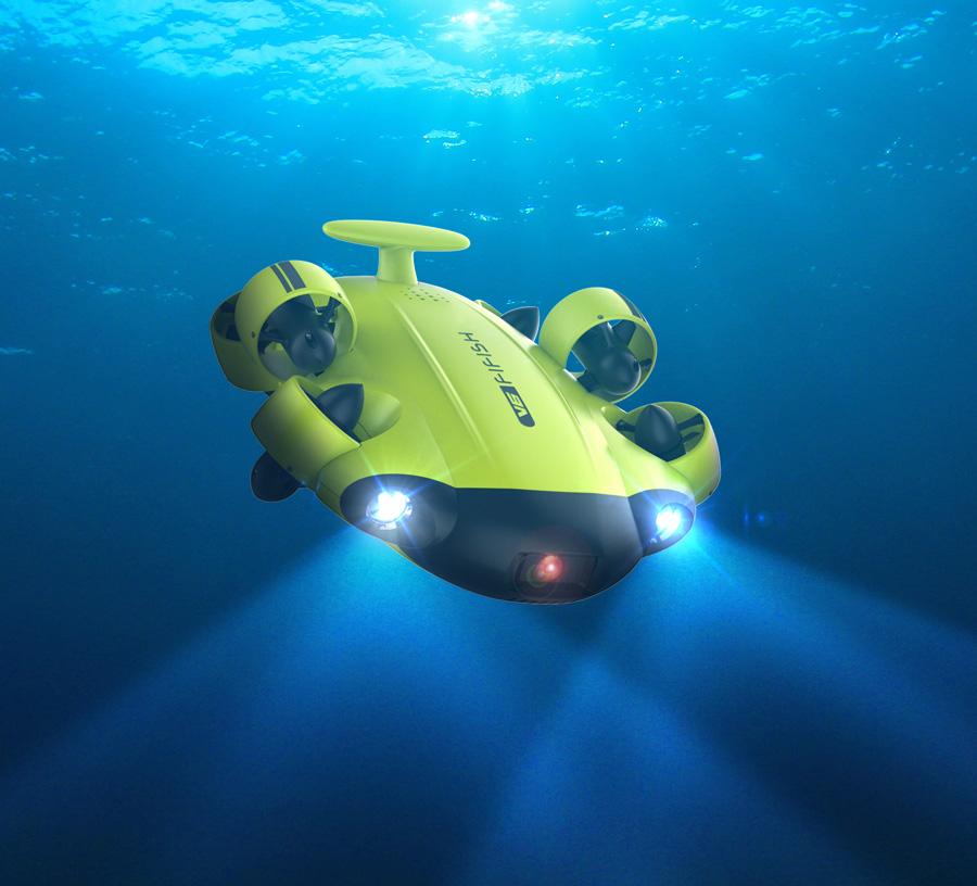4K Underwater Drone