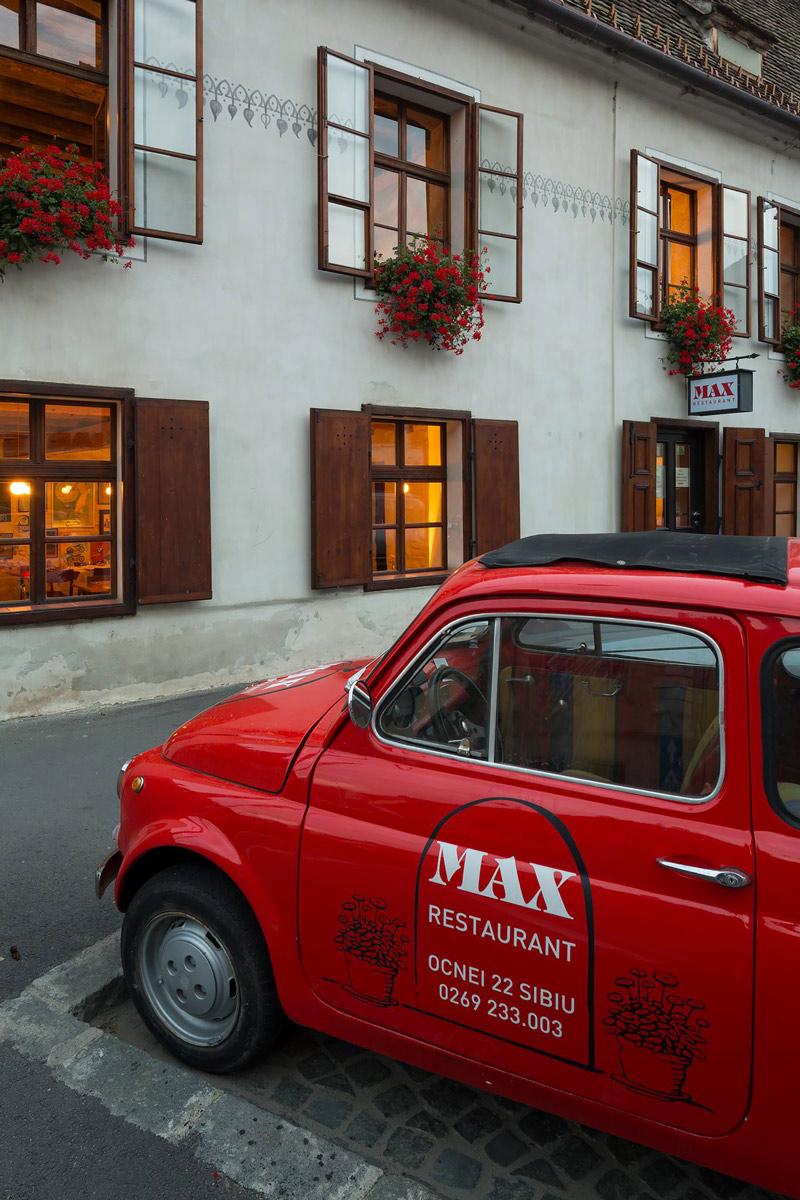 Max Restaurant, Sibiu