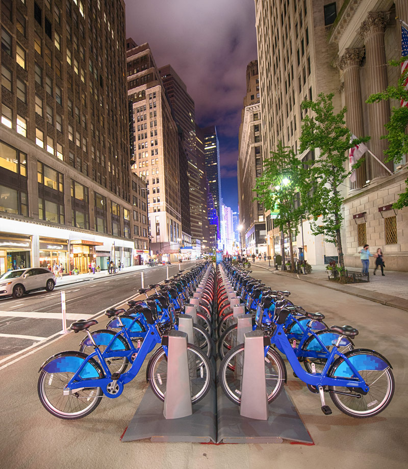 Bicycles in NYC
